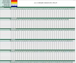 attendance list template staff leave calendar 2015