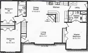 3 Bedroom Open Floor House Plans Open Floor Plan Kitchen And Dining Room Beautiful Pictures