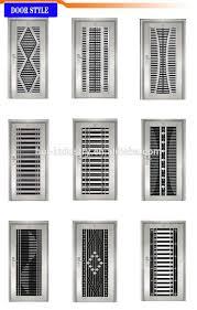 modern security screen door stainless steel mesh door designs for