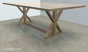 diy farm table plans diy farm table plans x base dining table free woodworking plans