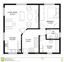 house drawings plans house plan construction house drawing plan background stock