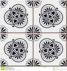 Moroccan Pattern Art Moroccan Wall by Vintage Seamless Wall Tiles Of Blue Round Line Flower Moroccan