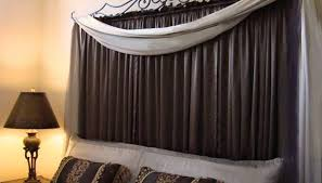 Installing Curtain Rod How To Hang Curtain Rods In Cement Or Metal Garden Guides