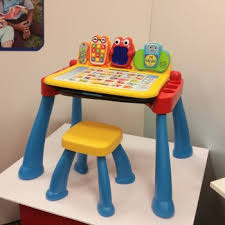 Vtech Write And Learn Desk Vtech U0027s Touch U0026 Learn Activity Desk Deluxe The Mommy Factor