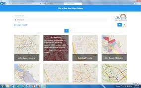 San Jose California Map San Jose Ca Official Website Maps