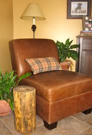 Stump Chair How To Make A Handmade Natural Tree Stump Side Table Homesfeed