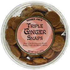 amazon com trader joe u0027s triple ginger snap cookies 14oz 2pk