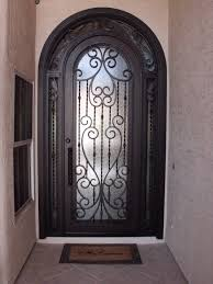 wrought iron front doors color very elegant wrought iron front