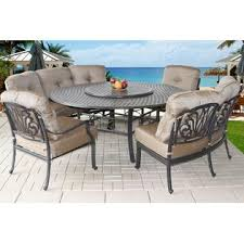 Patio Table Seats 8 Heritage Outdoor Living B00qkxkyts Outdoor Patio 8 Person Dining