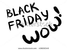 black friday artwork black friday lettering wow sketch word stock vector 436650349