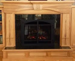 hand crafted figured ash arts u0026 crafts fireplace bookcase