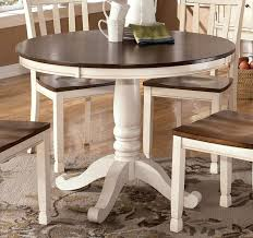 White Round Dining Table Set Hillsdale Furniture Napier Piece - Amazing round white dining room table property