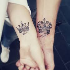 80 king and queen tattoo designs for couples