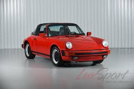 1990 porsche 911 red 1988 porsche 911 3 2 carrera targa guards red black g50 serviced