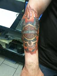 30 harley tattoos on forearm
