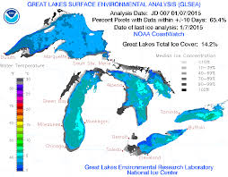 Chicago Gang Map Great Lakes Ice Makes A Leap After January Cold Snap The