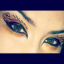 white tiger eye makeup mugeek vidalondon