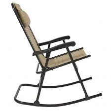 Fold Up Rocking Lawn Chair Awesome Rocking Lawn Chair With Shocks And Gci Outdoor Freestyle