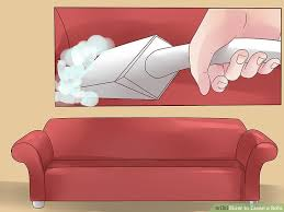 What Is The Best Upholstery Cleaner For Sofas The Best Ways To Clean A Sofa Wikihow