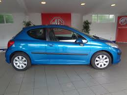 2nd hand peugeot used peugeot 207 1 4 s blue 1 4 hatchback oxford oxfordshire