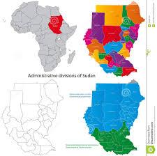 Map Of Sudan Sudan Map Stock Photography Image 18492752