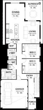 3 bedroom home floor plans 3 bedroom 2 storey home designs perth vision one homes