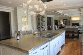 large kitchen island close up stock photo image 79327367 close up of island with built in dual faucet sink alexandria va kitchen 3868716647 kitchen design