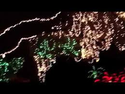 enchanted forest christmas lights enchanted forest lights north miami fl youtube