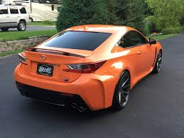 lexus rcf orange wallpaper mn 2015 lexus rc f rwd 467hp orange rocket mint shape as new