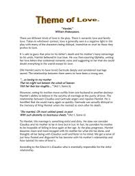 hamlet themes love hamlet themes revision pack gcse aqa edexcel by gems2307 teaching