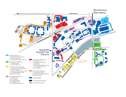Map Of Pennsylvania Colleges by Parking Lot Map