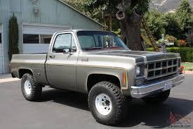 Classic Chevrolet 4x4 Trucks - gmc chevy k 10 truck 4x4 short bed 4spd rare