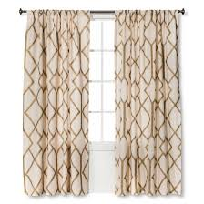 Gold Metallic Curtains Threshold Metallic Curtain Panel Window Room And Master Bedroom