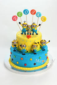 minions cake minion birthday cake figures image inspiration of cake and