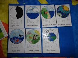 7 days of creation crafts for kids like success