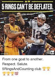 Kobe Bryant Injury Meme - 5ringscantbedeflated kobe bryant pat br hit twitter from one goat
