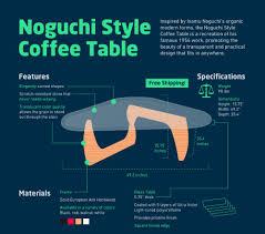 Famous Coffee Table Buy The Best Noguchi Coffee Table Replica All World Furniture
