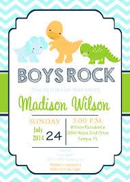 baby shower invitations free dinosaur baby shower invitations