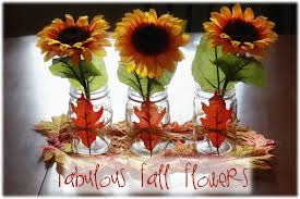 sunflower centerpiece fabulous fall fridays 3 sunflower centerpiece candle in the