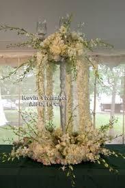 cascading floral fountain by crossroads florist mahwah nj