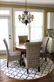 Modren Round Dining Room Rugs Rug Under Table Roselawnlutheran A - Rugs for dining room