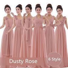 wholesale dusty rose dress cheap bridesmaid dresses dusty pink