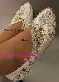 wedding shoes flats ivory wedding shoes flat ivory or white wedding by inthepinkdressboutiq