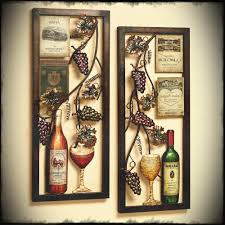 wall decor for home bar breathtaking glass wine and bottle patterns iron large wall art