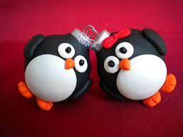 penguin christmas ornaments photo holders 8 50 via etsy