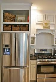 space between top of refrigerator and cabinet fridge and stove next to each other google search kitchen
