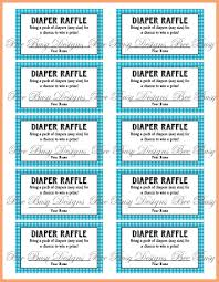 free printable baby shower raffle tickets template good resume
