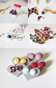 diy button earrings as a button easy diy fabric button earrings button