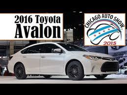toyota avalon aftermarket parts 2016 toyota avalon 2015 chicago auto live photos