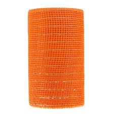 deco mesh ribbon orange metallic deco mesh ribbon 5 1 2 hobby lobby 52134